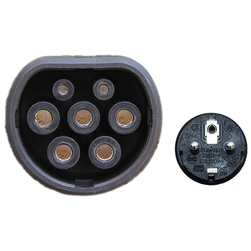 5-EV EVSE Type2 (max. 16A) IP55 Stație portabilă