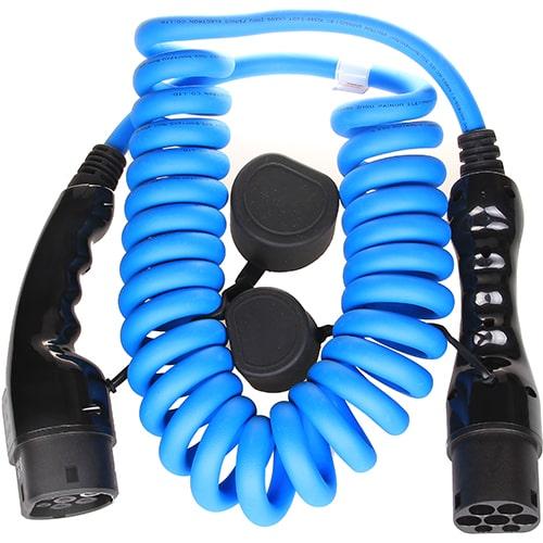 2-EV Type2 -> Type2 spiral (3x16A) Cablu de încărcare EV