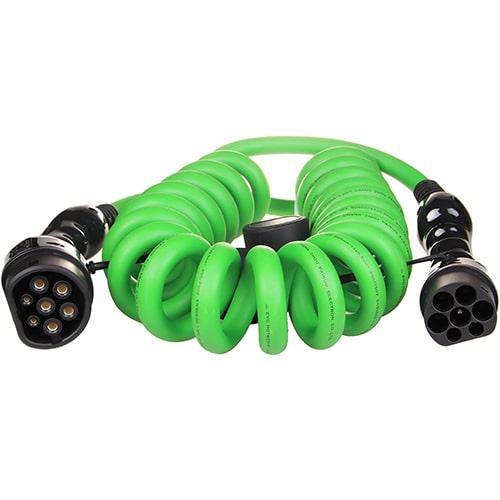 1-EV Type2 -> Type2 spiral (3x32A) Cablu de încărcare EV