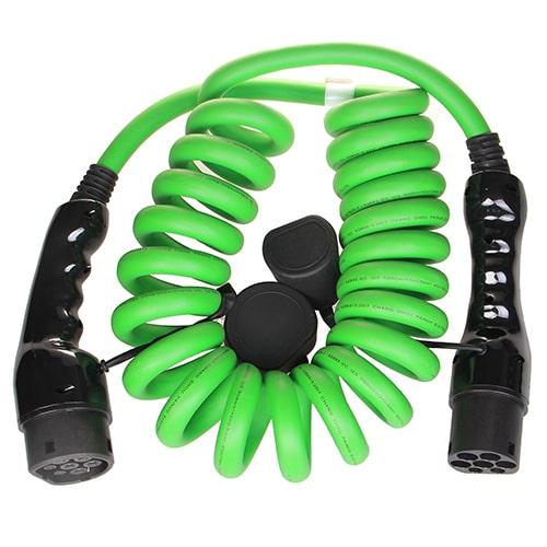 2-EV Type2 -> Type2 spiral (3x32A) Cablu de încărcare EV